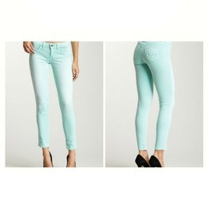 Siwy Denim Hannah Slim Cropped Jeans in Cool La La